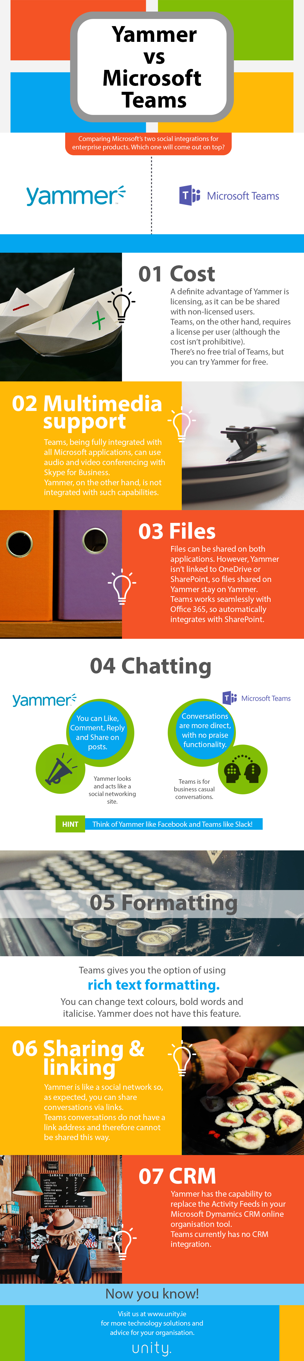 Microsoft Teams, Yammer and Office 365 Groups – which one, when